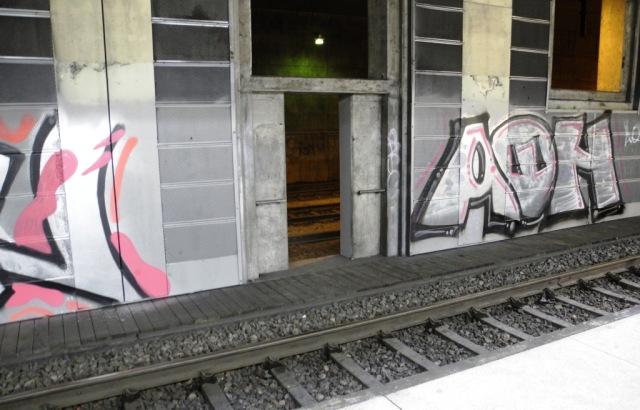 Bortom spår 1 på Södra station i Stockholm finns en parallell tunnel med dubbelspår, utan att någonting någonsin verkar rulla där....