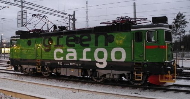 Rd2 1078 i Södertäljehamn 15:e december 2013